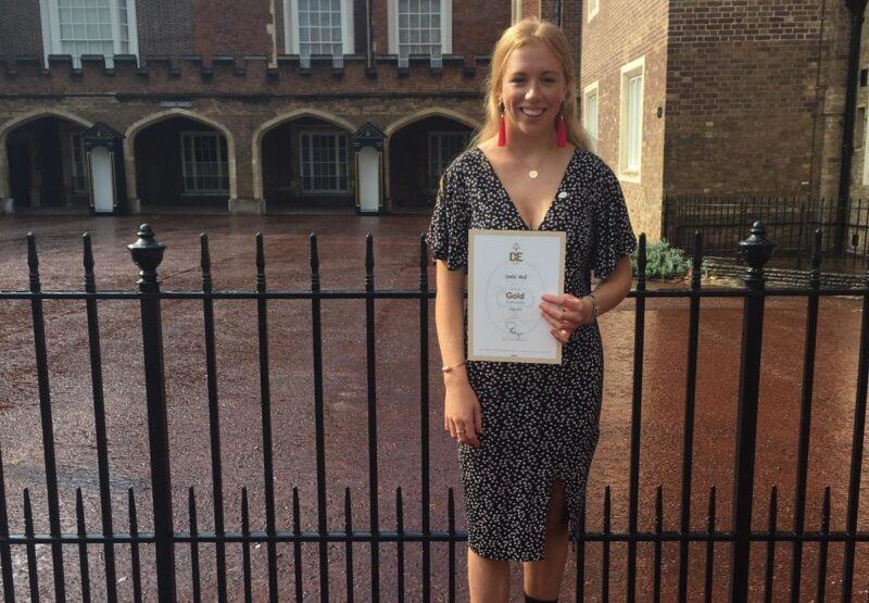 OF India Ball receives Duke of Edinburgh's Gold Award