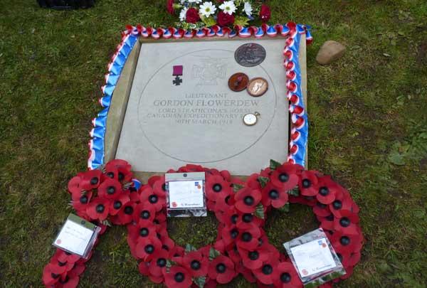 OF Gordon Flowerdew VC Commemorated