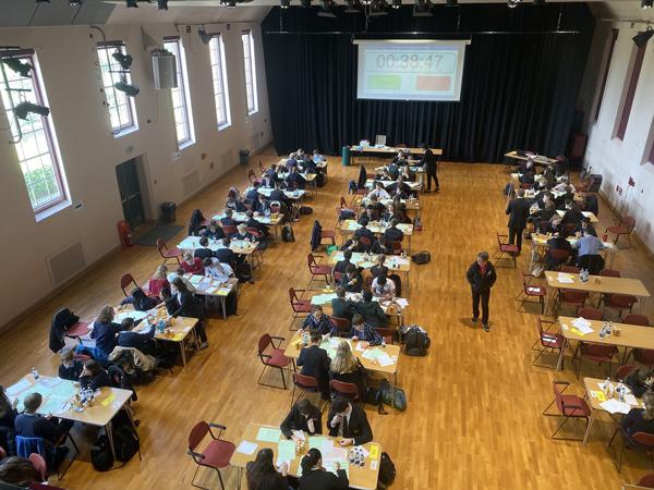 UKMT Maths Challenge Report