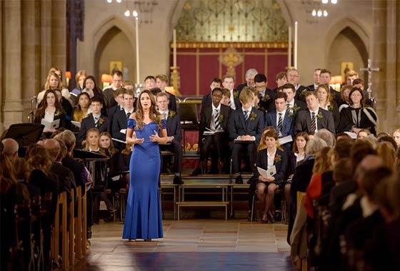 Framlingham College Carol Service at St Edmundsbury Cathedral