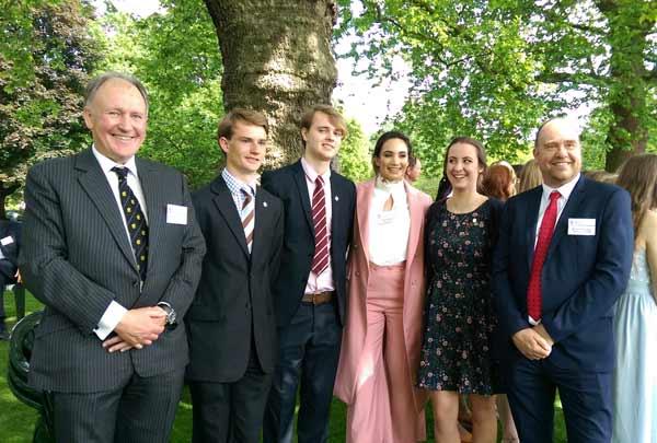 Gold DofE Awards at Buckingham Palace
