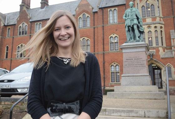 Former pupil, Katy Williams returns to Pembroke!